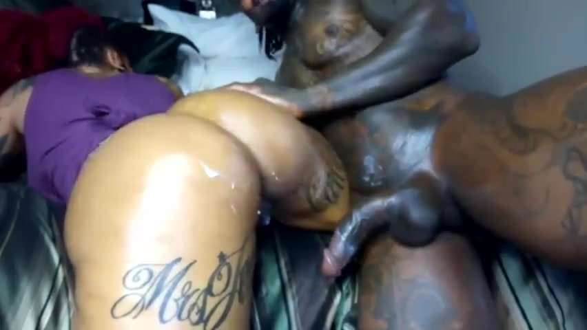 Thick Ebony Fuck Machine