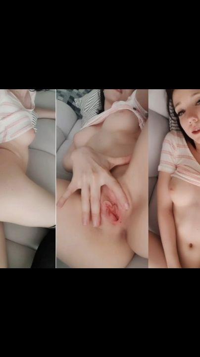 latina fat pussy masturbation