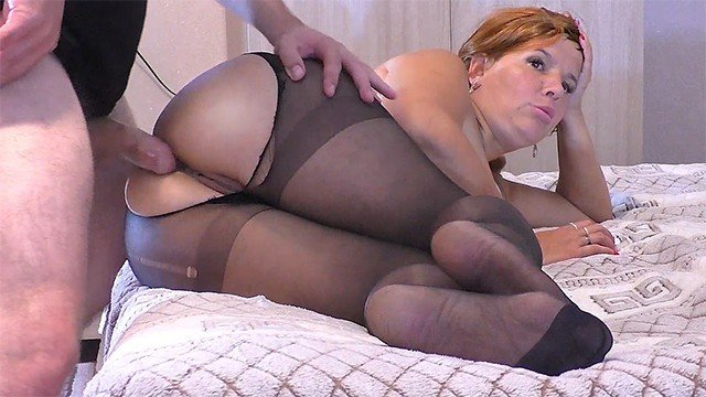 Mature pantyhose big ass Mom In Pantyhose Gave Her Stepson Her Ass Big Ass Mature Lady Anal Sex And Blowjob Pornmega Com